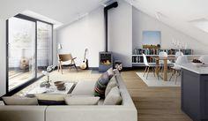 Rustig en natuurlijke woonkamer