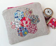 Mini purse with Liberty applique