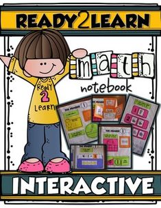MY FIRST INTERACTIVE MATH NOTEBOOK is a fun, intentionally organized way to teach your Pre-K and Kindergarten students number sense, counting and basic math.  It also will provide your students (and their parents)  with a complete reference of the math they have learned--instead of gobs of worksheets to sift through and, ummm, recycle.