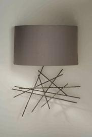 lampara de pared Ideas Para, Wall Lights, Table Lamp, Decor Ideas, Lighting, Diy, Home Decor, Alcove, Houses