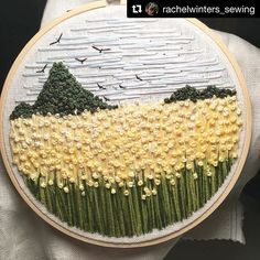 @rachelwinters_sewing #bordado #embroidery #broderie #ricamo #handembroidery #needlework