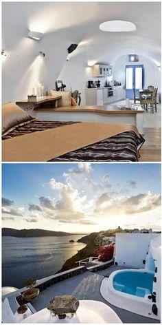 #Gemelas_Family_Homes - #Santorini - #Greece http://en.directrooms.com/hotels/info/2-55-433-255288/