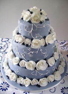 Summer Blues Cake