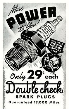 Power Spark Plugs!