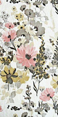 Vintage look floral pattern