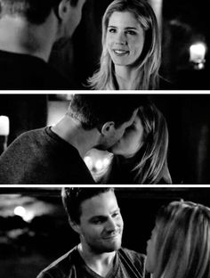 Oliver & Felicity #Arrow #Olicity #3x20