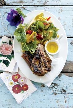 Jamaican pork chops