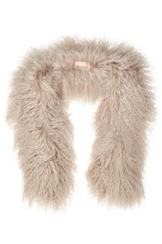 Shop on-sale Karl Donoghue Shearling scarf. Browse other discount designer Scarves & more on The Most Fashionable Fashion Outlet, THE OUTNET.COM