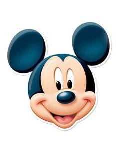 Masque en carton Mickey Mouse Articles de fête Masques enfants ...