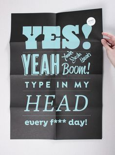 Yes! HVD Type Poster