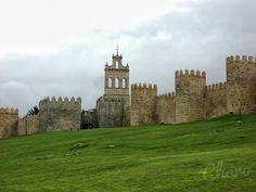 Muralla de Avila(Castilla-León/España).