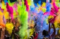 Holi, le festival des couleurs, Inde, photo 01