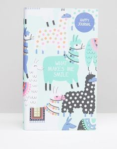 Paperchase Llamas Happiness Journal