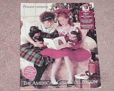 CATALOG AMERICAN GIRLS PLEASANT COMPANY 1994 holiday COVER with Addy & Samantha
