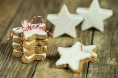 Biscuits étoilés à la noisette