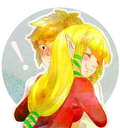 Link x Zelda - Legend of Zelda