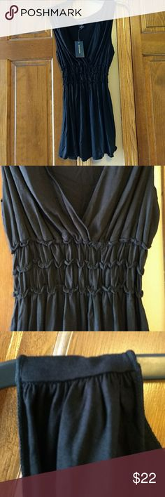 SaleBlack V-neck Sleeveless Blouse Dress up or down for any occasion. Max Edition Tops Blouses