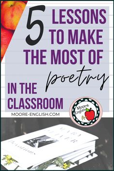 Teaching poetry is one of my teaching superpowers. Poetry is a great tool for teaching specific skills, including tone, connotation, syntax, text structure, historical context, figurative language, and literary devices. Poetry Activities, Vocabulary Instruction, Teaching Poetry, Instructional Strategies, Figurative Language, Teacher Favorite Things, Writing Resources, Language Arts, Ap Literature