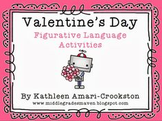 I'm Lovin Lit: Valentine's Day Figurative Language Activities ~ Follow the Trail Product Swap