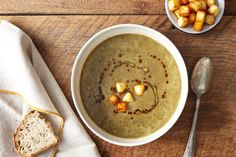Green Lentil Soup with Curried Brown Butter recipe on Food52