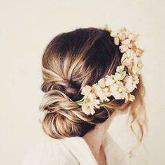 #Mariage : 10 jolies coiffures de mariée repérées sur Instagram