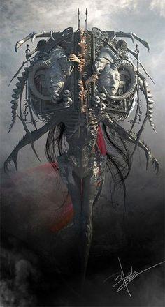 Monster Art, Monster Concept Art, Fantasy Monster, Monster Design, Dark Fantasy Art, Fantasy Artwork, Dark Art, Demon Art, Dark Creatures