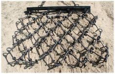 Arena Drag-Tarter Gate Chain 4ft x 4ftW by Other. $314.99. Garden tractors or ATVs can pull this flexible chain harrow. Ideal for smoothing yards or garden soil and dragging driveways, riding tracks, or arena footing. This harrow allows dozens of metal teeth to set up when pulled to grab the soil or grade surface. 95 lbs. Due to incresed costs we have updated the price. We apologize for any inconvenience.