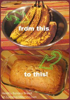 Healthy Recipe: Banana Bread - Comeback Momma