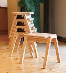 artesanato em madeira banquinhos