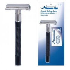 Diamond Edge Classic Safety Razor And Blades >>> $ 9.40