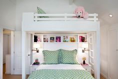LOVE this idea for a bunk