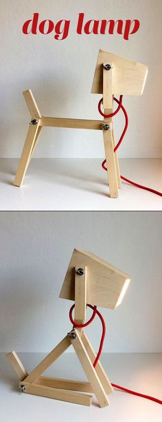 Make a dog lamp that will light up your day!
