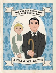 Downton Abbey trading cards by Chad Thomas