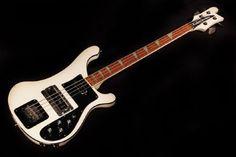 Rickenbacker Bass - White