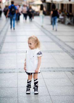 Komplet Kokilok 'Lace' - panterka, wakacje, chillax! #kids #dzieci #child #kidsfashion #kidzfashion #fashionkids #moda #modadziecięca #cute #cutest_kids #cute #baby #babiesfashion #stylishchild #kokilok