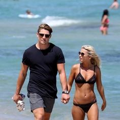 EXCLUSIVE Australian and Toulon Rugby star James O'Connor holidaying in St Tropez (305029)
