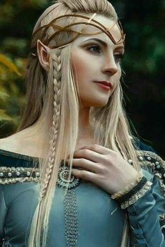 f High Elf Robes portrait cosplay lg Zelda Cosplay, Cosplay Elf, Elven Cosplay, Elven Costume, Fairy Cosplay, Foto Fantasy, Fantasy Art, Elves Fantasy, Fantasy Creatures