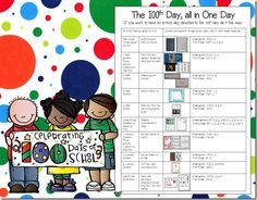 Teach your students all about 100 all in one day!