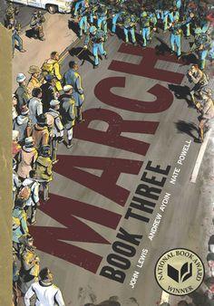 March: Book Three: National Book Award Winner by John Lewis