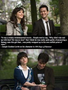 JGL actually changed my mind about this film. I now love it.