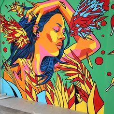 Bonus level! Another new piece by Bicicleta Sem Freio In San Francisco with…