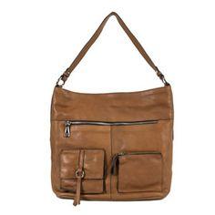 El color cuero de este bolso nos chifla. Admite miles de combinaciones, te permite un look casual y muy funcional. Sus múltiples bolsillos, sus dos cremalleras y su forma bolsa lo convierten en un bolso de piel imprescindible. #bolsodepiel #bolsobridas #bolsoprimavera14 #clenapal