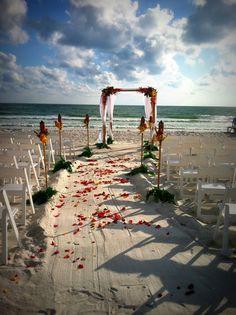 Lido Beach Resort, Beach Weddings