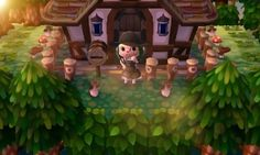 Town inspiration: cabin in the woods