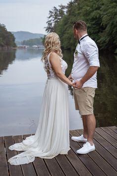 Svatební šaty  Aneta + Jan - Couple Memory Lace Wedding, Wedding Dresses, Memories, Couples, Fashion, Bride Dresses, Memoirs, Moda, Bridal Gowns
