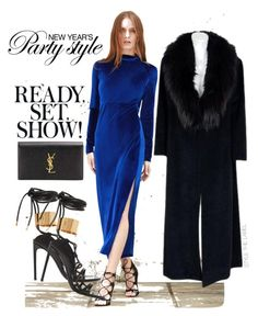 """""""STYLE THE LOOK 40"""" by stylethelabel ❤ liked on Polyvore featuring Sorelle Fontana, Tom Ford and Yves Saint Laurent"""