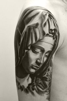 tatuaje virgen