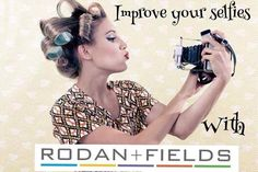 Let's make a New Years resolution to improve your selfie game! Rodan+Fields is here to help!