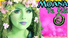 Disney Moana Te fiti Makeover Makeup Tutorial transformation Princess To. Te Fiti Costume, Moana Costume Diy, Moana Halloween Costume, Sibling Halloween Costumes, Family Costumes, Disney Costumes, Halloween 2017, Halloween Cosplay, Holidays Halloween