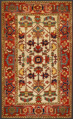 Afghan Heriz Oriental Rug